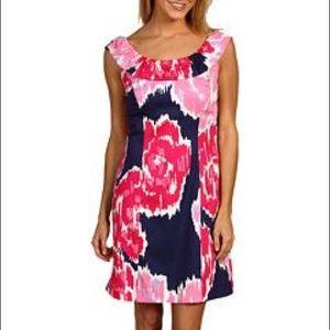 Lilly Pulitzer Dominica Bright Navy Brava Dress